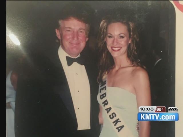 Former Miss 1997 Teen Nebraska says Trump was a gentleman during pageant