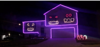 Couple creates amazing Cubs Halloween display