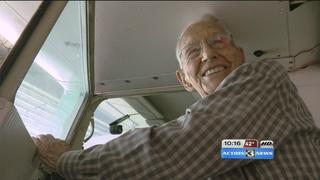 World's oldest active pilot turns 99 next month