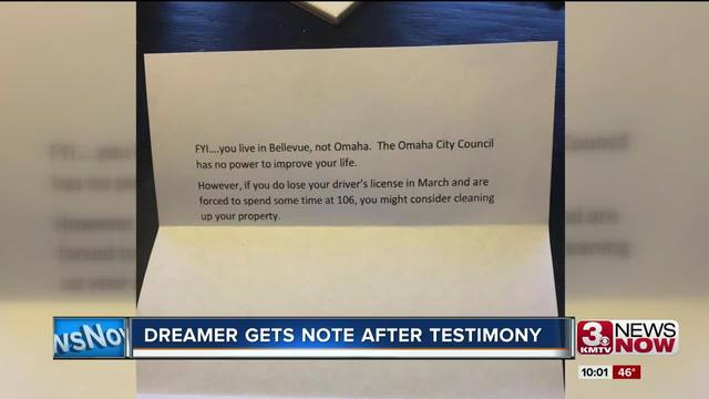 Scathing Note Left In Dreamer S Mailbox After Daca