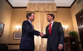 Sen. Ben Sasse meets with Supreme Court nominee