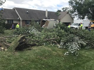 Cleanup begins after tornadoes rip through Iowa