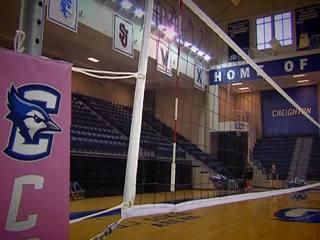 Creighton volleyball team beats #3 Washington