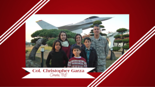 Military Greeting: Col. Christopher Garza
