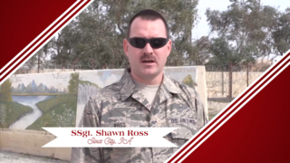 Military Greeting: SSGT. Shawn Ross