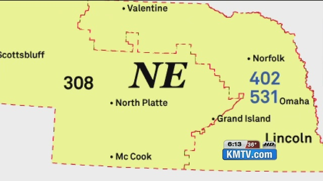 New Area Code Being Assigned For Eastern Nebraska Residents - Area code 531