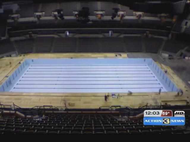 Pool Construction Underway For U S Swim Trials Omaha Sports Insider