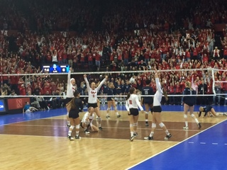 Huskers sweep Stony Brook in NCAA Tournament