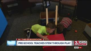 Preschool embraces STEM through play
