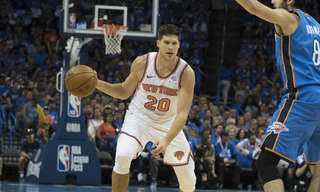 Doug McDermott sends the Knicks to OT with three