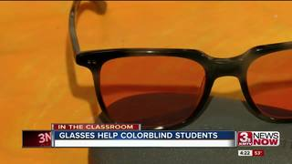 Glasses at Westside help colorblind students