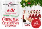 Omaha Symphony Christmas Celebration Giveaway