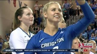Creighton volleyball takes down Coastal Carolina