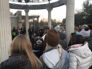 Remembering Sydney Loofe: Sunken Gardens vigil
