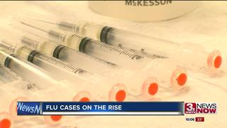 Flu cases on the rise in Nebraska and Iowa