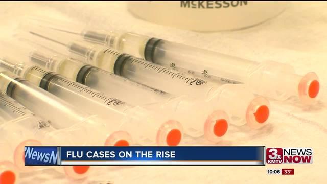 Flu cases on the rise in Nebraska and Iowa