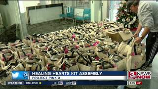 Project Pink'd hosts Healing Hearts kit assembly