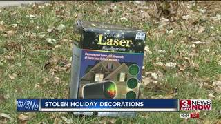 La Vista family has holiday decoration stolen