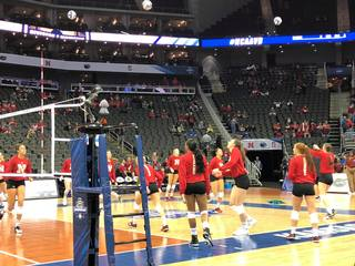 Huskers prep for Final Four with Penn State