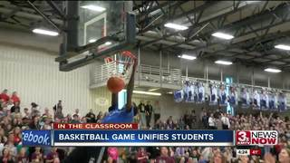 Basketball game unifies students