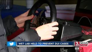 Wet Lab helps law enforcement, understand DUI