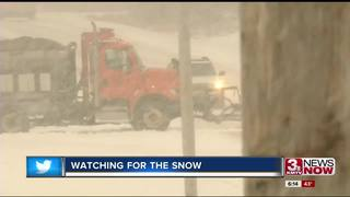 Omaha road crews prepared for winter weather