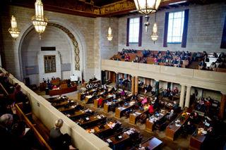State budget bill stalls again