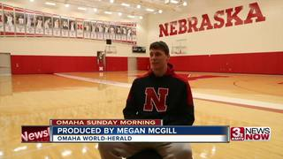 Huskers' Borchardt surprised with scholarship