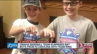 Omaha baseball team surprises bat boys from...