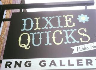 Dixie Quicks patrons getting in last tastes