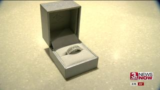 Diamond ring from rejected proposal donated
