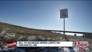 Nebraska lawmakers propose raising speed limits