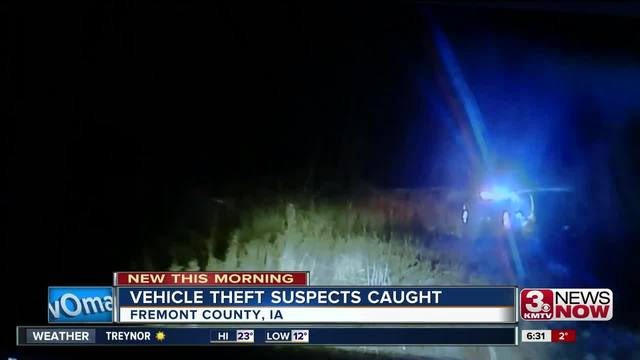 Three arrested after Fremont County car chase