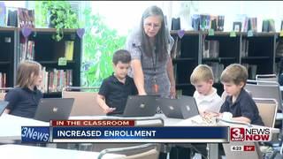 Enrollment up at Catholic School Consortium