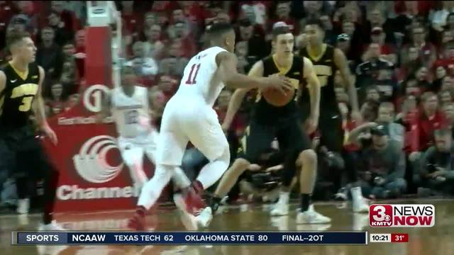 Huskers run away from Hawkeyes