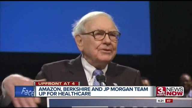 Amazon, Berkshire and JP Morgan to form new healthcare company