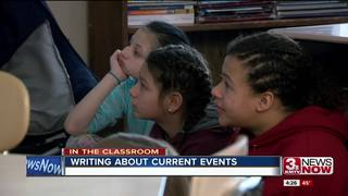 La Vista school learns current events by writing