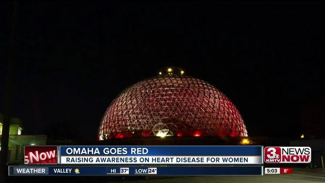 Omaha goes red