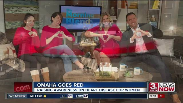 Raise awareness for heart disease with the Go Red for Women campaign