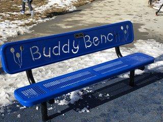 Oakdale Buddy Bench honors beloved grandma