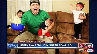 Kearney family's photo appears in Super Bowl ad
