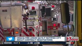 Fire union, Mayor Stothert in contract dispute