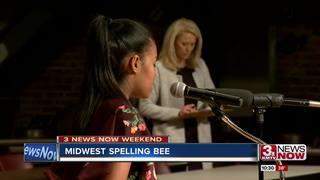 Stephanie Lewis wins Midwest Spelling Bee