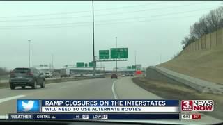 I, L, Q ramp closures begin Monday night
