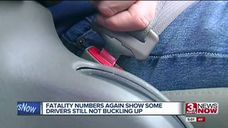Lack of seat belt use causing deaths in 2018