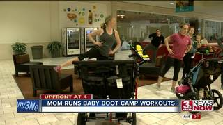 Omaha mom teaches baby boot camp at mall
