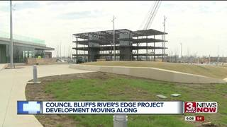 Last beam placed on CB riverfront project