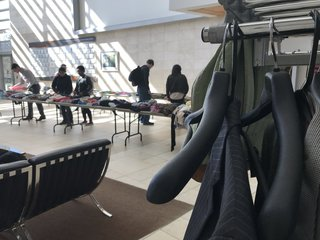 UNO students hold Earth Week clothing swap