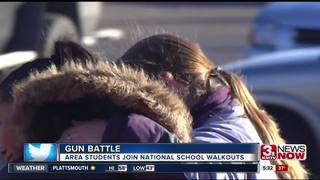 Area students join 'National School Walkout'