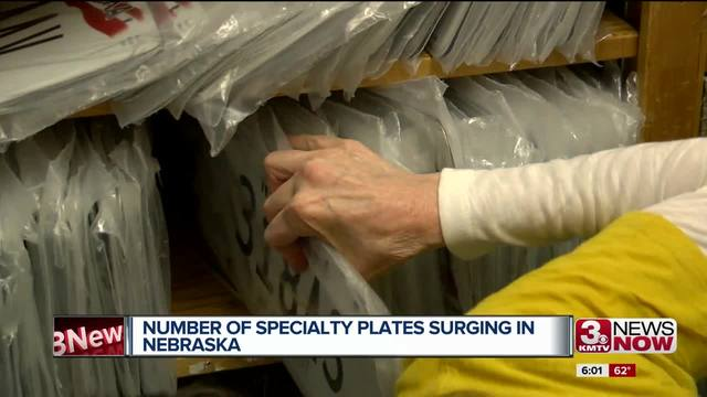 Specialty license plate sales spike in 2017